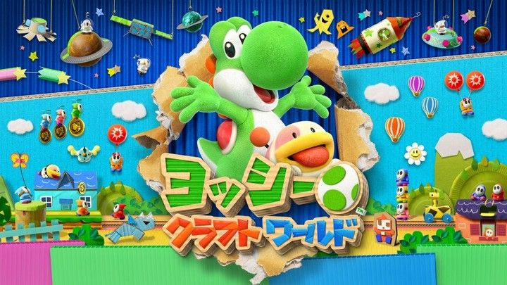 Fami通新作评分 《耀西的手工世界》《胜利赛马9》等