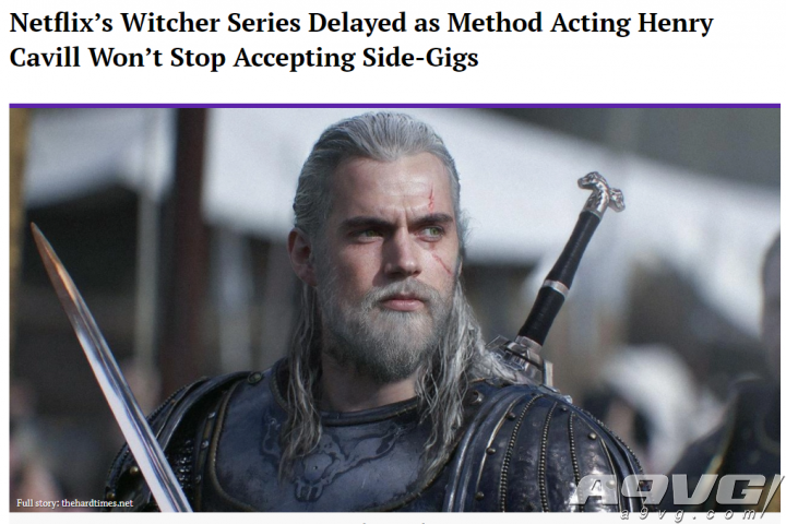Netflix《巫师》拍摄过程不顺 源于卡维尔边拍戏边打工