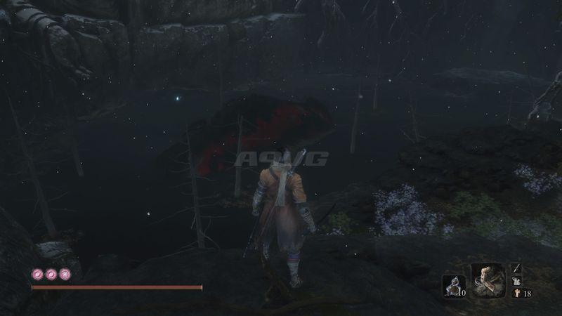 《只狼 影逝二度》色鲤霸主忍杀攻略 鱼王怎么忍杀