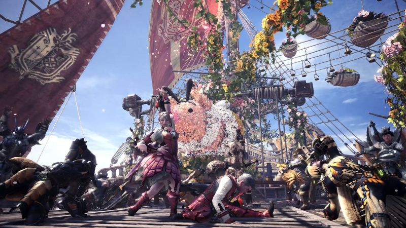 """《怪物猎人世界》第二次""""开花之宴""""将于4月26日开启"""