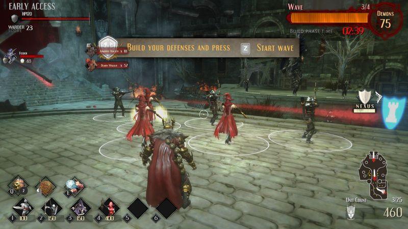 动作塔防游戏《炼狱围城》将于6月27日发售Switch实体版