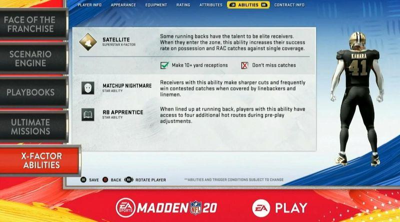 《麦登橄榄球20》宣传片公开 全新的角色成长模式登场