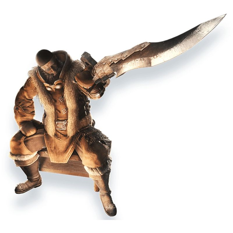 """《怪物猎人世界 Iceborne》重要角色""""雪地""""造型公开"""
