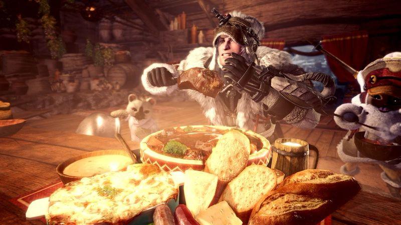 《怪物猎人世界  Iceborne》新猫饭公开 快来尝尝冻土上的美食
