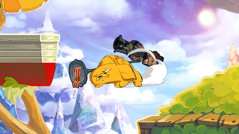 《探险活宝》角色芬恩,杰克和泡泡糖正式加入《英灵乱战》