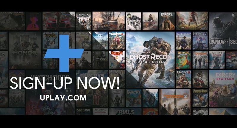 育碧公布PC平台订阅服务Uplay Plus 包含超过100款游戏