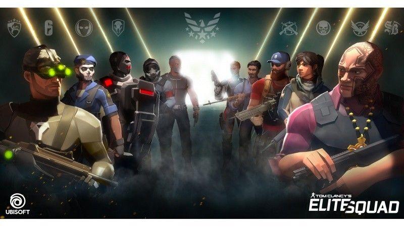 汤姆克兰西手游《攻坚特勤》公布 包含大量系列角色