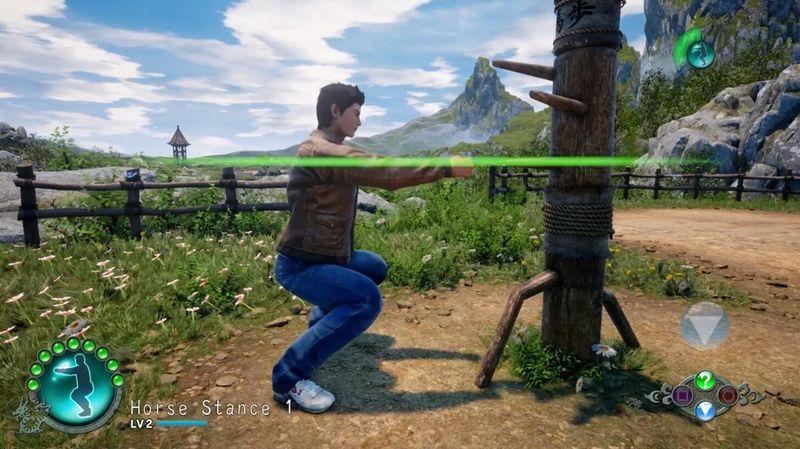《莎木3》打工和习武模式实机演示公开 锁定时机很重要