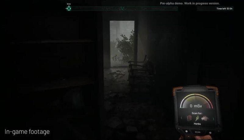 恐怖冒险游戏《切尔诺贝利》E3宣传片公开 对比游戏和现实