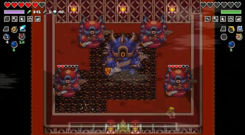 《节奏海拉鲁》树屋实机演示 在轻快的节奏风格下拯救海拉鲁