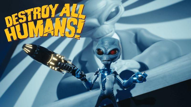 《毁灭全人类 重制版》实机演示 这次帮ET征服地球