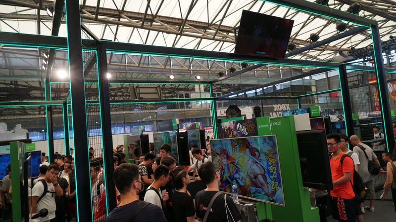 ChinaJoy 2019Xbox展臺概覽 四人光槍同玩《古墓麗影》