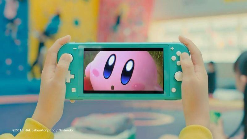 任天堂公开Switch Lite电视广告 将于9月20日正式发售