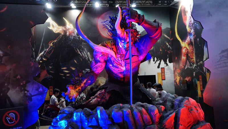 TGS2019带你逛现场之光荣特库摩展台