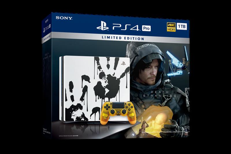 《死亡搁浅》PS4 Pro限定机公布 11月8日同步推出