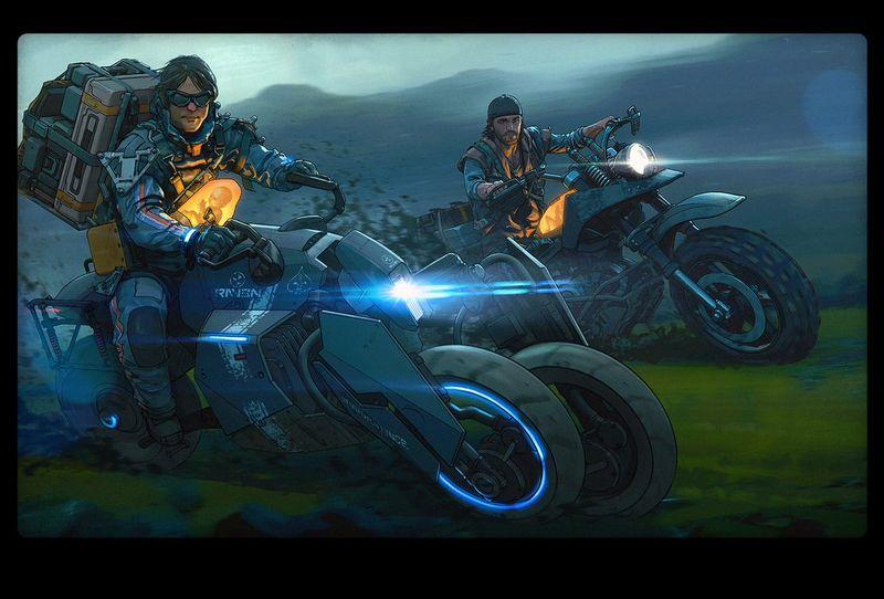 为庆祝《死亡搁浅》正式推出 索尼旗下工作室分别发表贺图