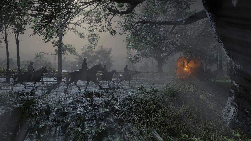 PC版《荒野大镖客2》画面还行 三年前的机皇挺住了