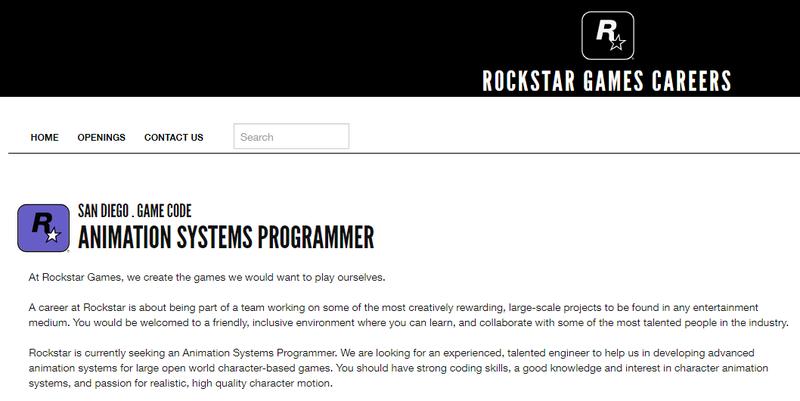 R星為次世代大型開放世界游戲招人 《GTA6》或許真的在做了
