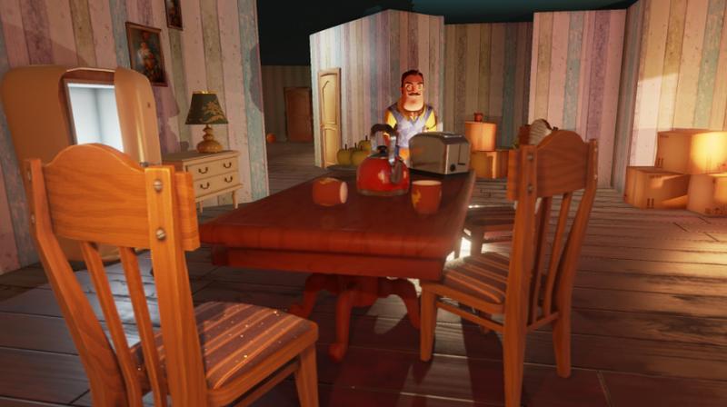 Epic连续喜加一 恐怖冒险游戏 《你好邻居》免费领
