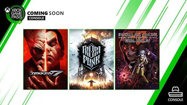 《冰汽时代》《铁拳7》本月加入Xbox Game Pass主机端