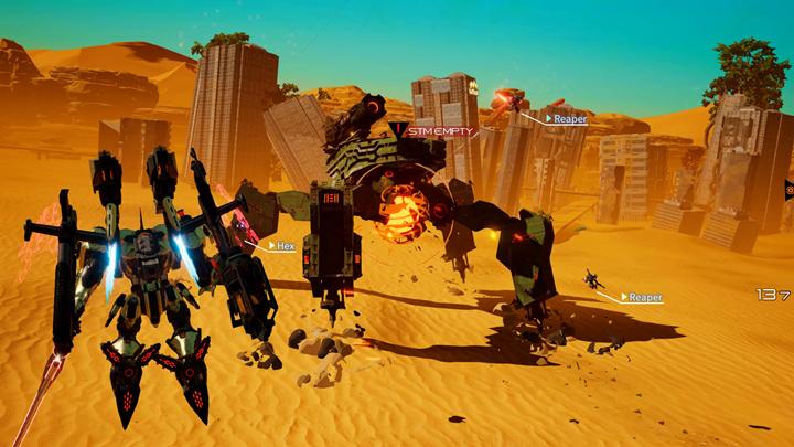 机甲动作游戏《机甲战魔》将于2月13日登陆Steam平台