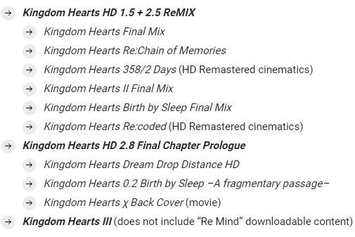 SE將在北美推出PS4《王國之心》大禮包 內含1.5+2.5+2.8+3