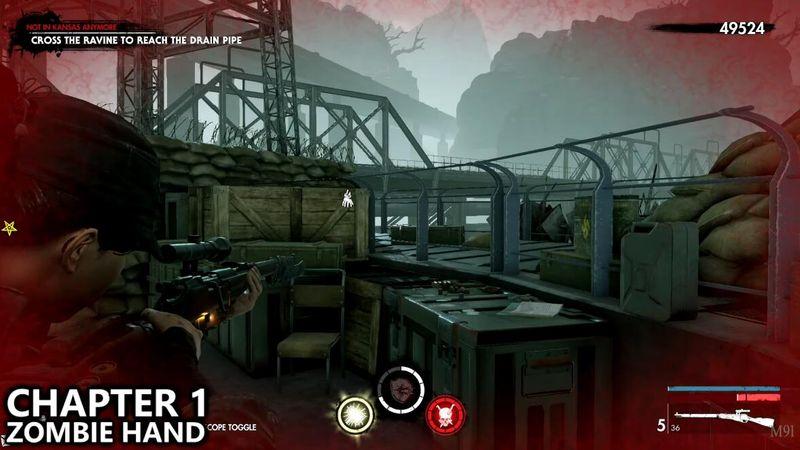 《僵尸部隊4 死亡戰爭》第八章全收集物攻略 地獄基地全收藏品