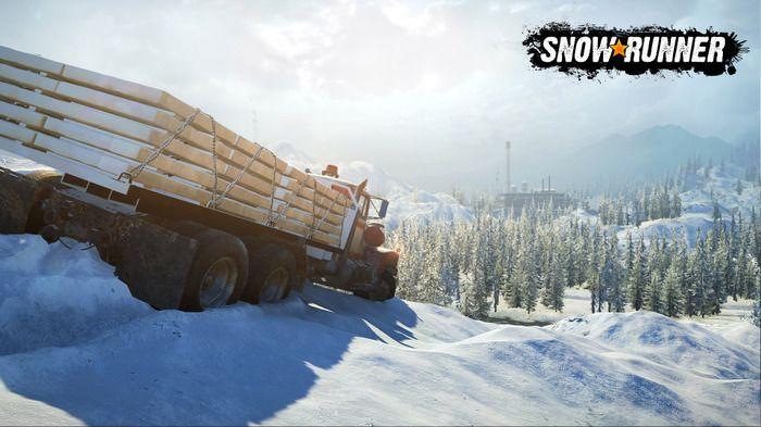硬核越野模拟驾驶游戏《雪地奔驰》4月28日发售