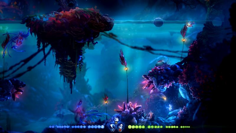 《精灵与萤火意志》光之池解谜区域进入方法 光之池生命核心拿法
