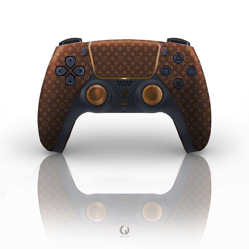 艺术家设计PS5手柄DualSense配色 科比、蜘蛛侠、LV等主题