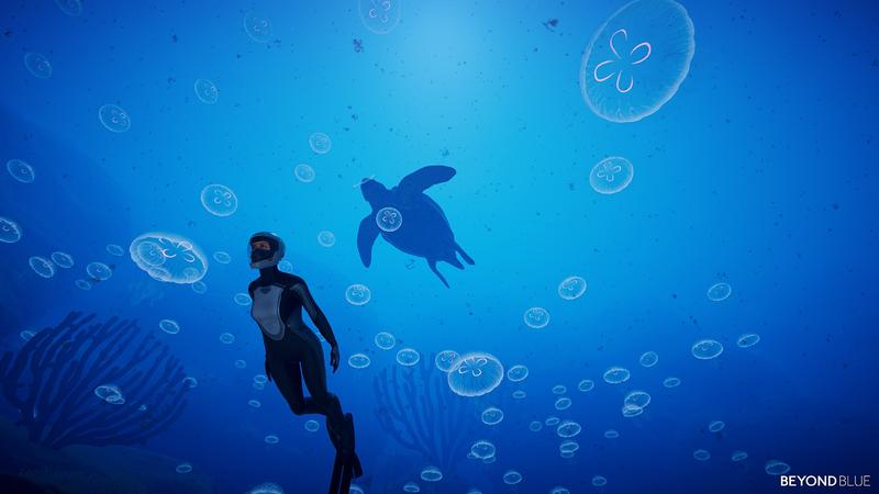 大海探索向作品《Beyond Blue》公开发售日 潜入深海探索未知