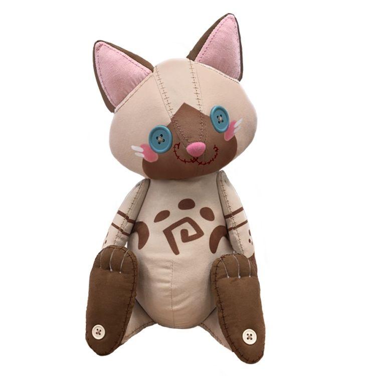 《怪物猎人世界 冰原》装饰艾露猫主题玩偶公开 预计10月推出