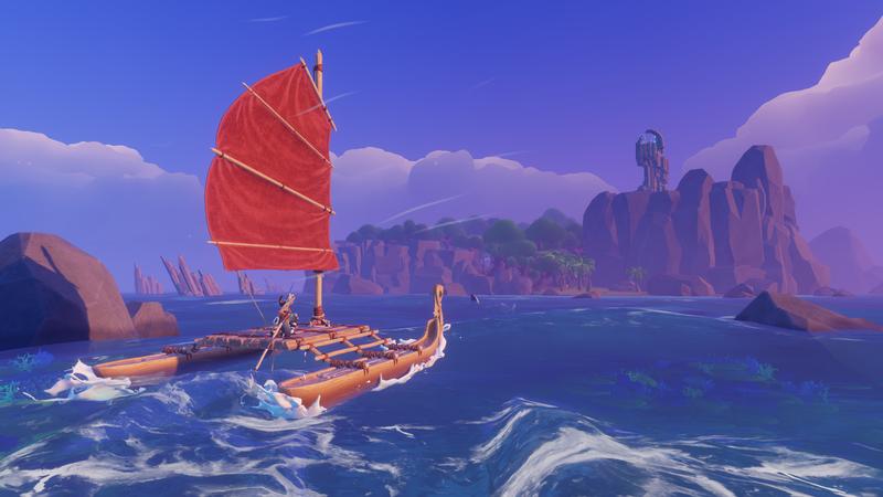 《Windbound》21分钟实机演示 展示狩猎、出海等大量玩法