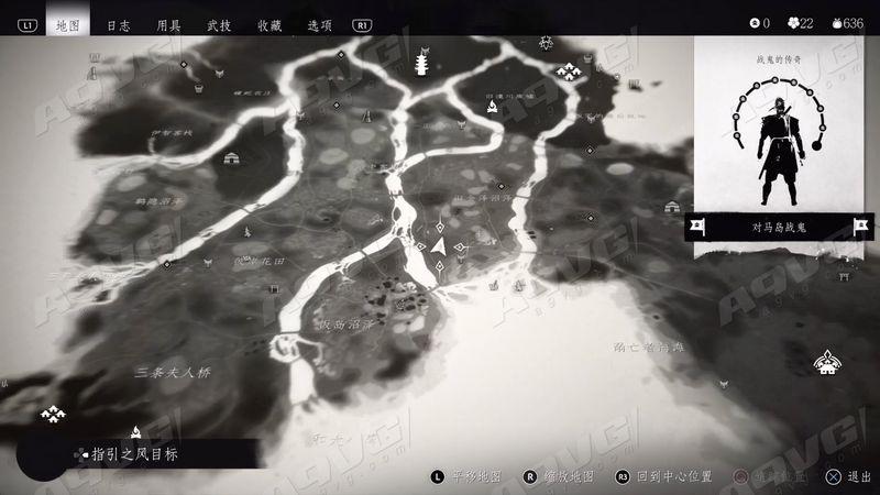 《对马岛之魂》致敬无形者奖杯视频攻略 隐藏神龛地图位置