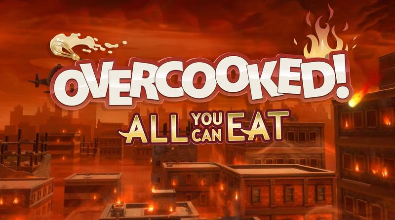 《胡闹厨房 自助餐版》公开 包含以往所有内容 登陆下时代主机