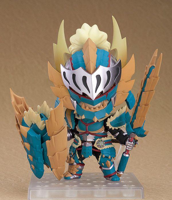 GSC《怪物獵人世界 冰原》雷狼龍套裝粘土人細節公開