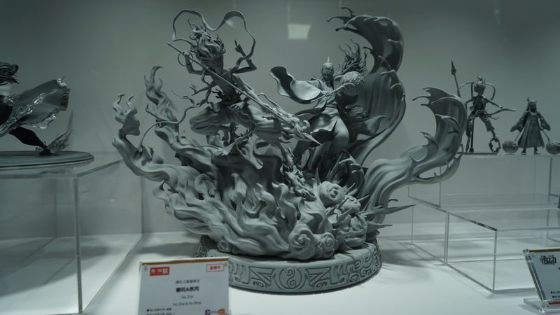 ChinaJoy 2020万代南梦宫展台图集:钱都是万代的