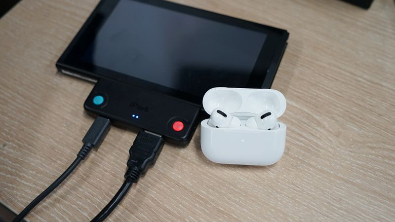 Switch蓝牙接收器iPark-SDA80开箱:TV模式下的蓝牙耳机伴侣