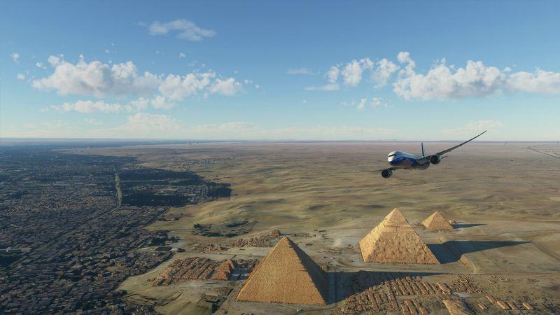 足不出戶飛遍全球 《微軟飛行模擬》世界知名景點高清圖賞