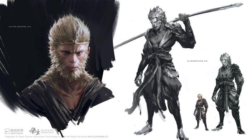 《黑神话 悟空》官方常见问答 大量精美概念原画公布