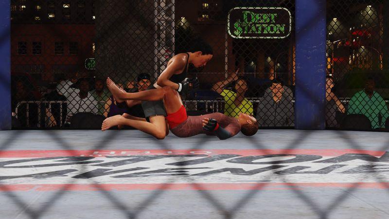 《EA SPORTS UFC 4》评测:描边现实取材的本格格斗游戏