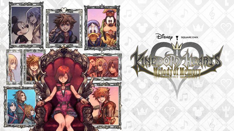 《王国之心 记忆旋律》主创受访 预计年内发售
