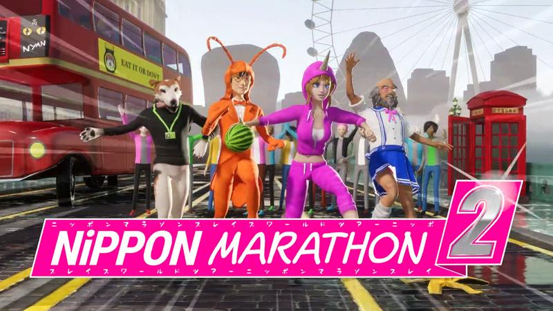 魔性题材竞技游戏《日本马拉松2》公布 近期开启开发众筹