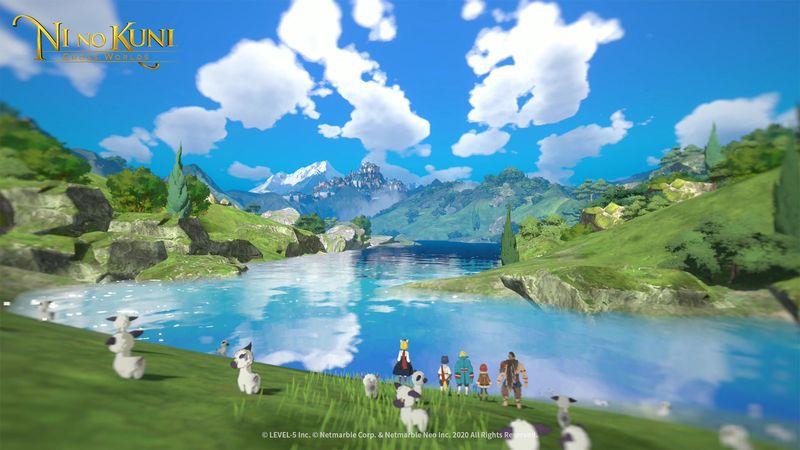 手游《二之国 交叉世界》全新画面截图 展示世界与登场角色