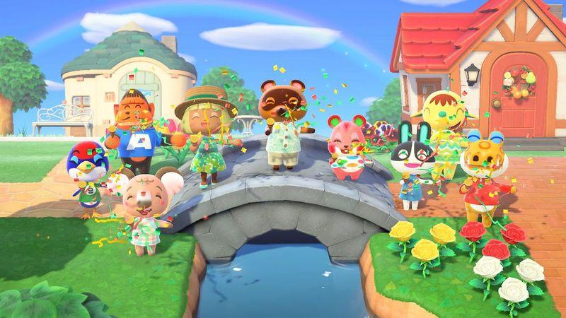 亚马逊英美年度游戏销售榜 《集合啦!动物森友会》双榜登顶