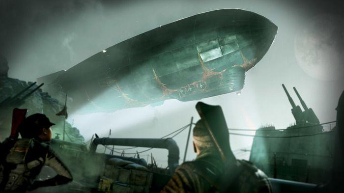 """《僵尸部队4 死亡战争》公开DLC""""亡灵飞艇""""宣传视频"""