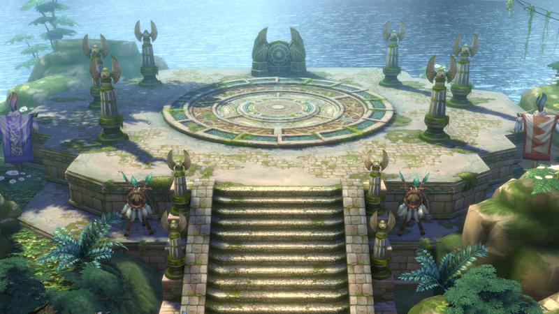 《伊苏6 Online 纳比斯汀的方舟》新角色立绘与场景截图公布
