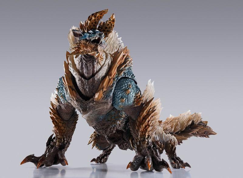 S.H.MonsterArts 《怪物猎人》系列雷狼龙成品图公开