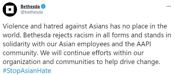 美国发生针对亚裔的枪击事件 索尼、微软等呼吁停止类似行径
