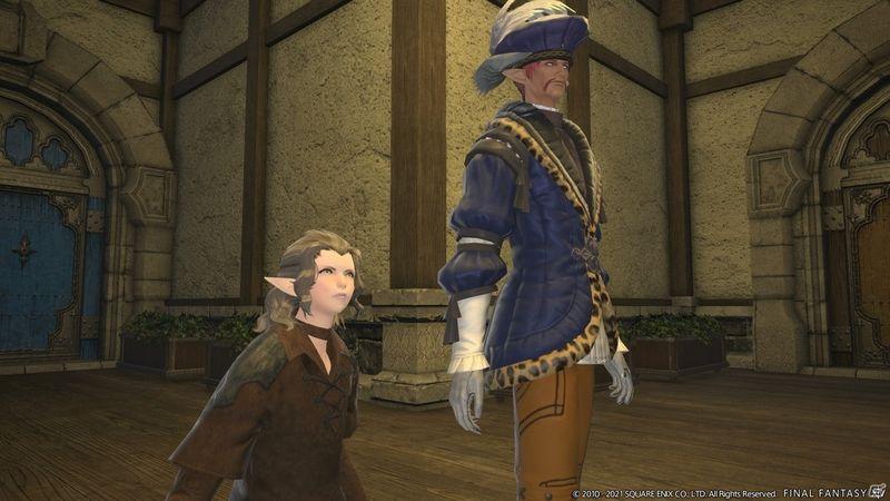 《最终幻想14 暗影之逆焰》5.5版本新截图展示新坐骑宠物